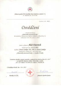 Dietrich - vyškolený zdravotník