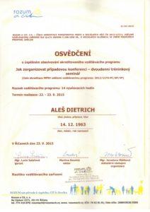 Dietrich - vedení případových konferencí